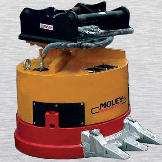 OilQuick Moley Magnet
